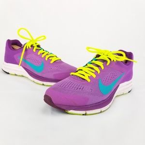NIKE Structure 17 Running Shoes 615588-535 Purple